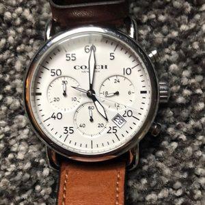 Coach chronograph men's watch